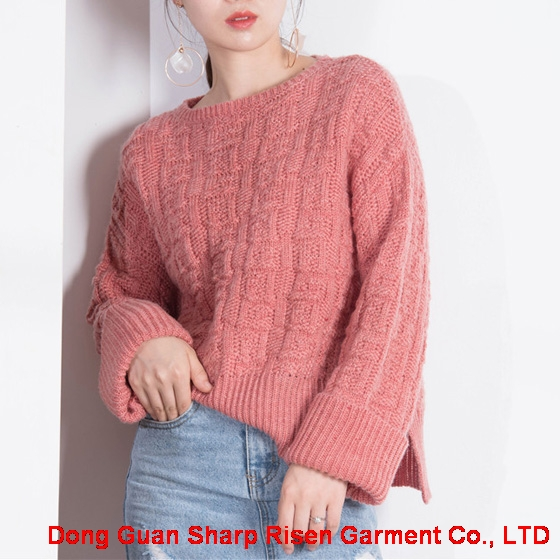 Loose knit sweater 1708048