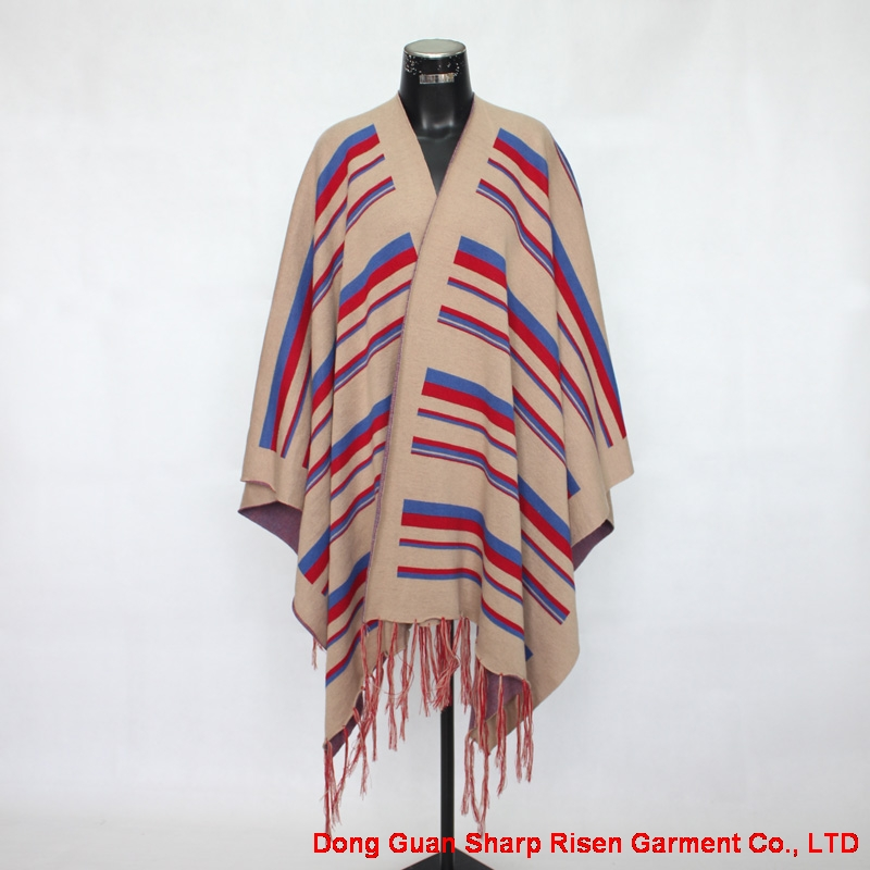 Stripe Shawl 07-2072
