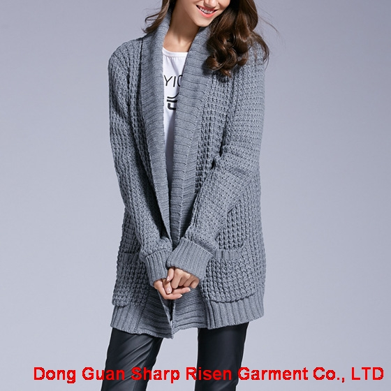 The thick pocket cardigan 1706110