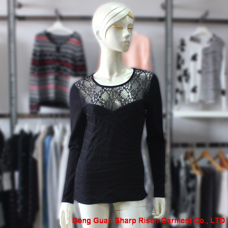 Popular Lace Design Sweater 1704007