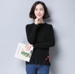 Pure women's sweater 1708040