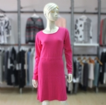 Knee Length Sweater Dress 1705013