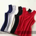 Womens Cashmere Sweater Vest Y161