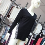 Lace Design Elegant Top Sweater 07-0648