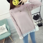 Lace beading Pullover 1706083