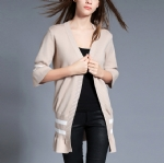 V-neck Long cardigan 1706065