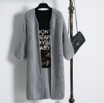 Thick long cardigan 1706066
