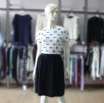 Short Sleeve Womens Dress 170203