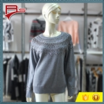 Nail Beading Decration Sweater 1704017
