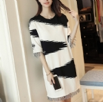 Autumn wear knitted dresses 1706134