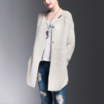 Female Long Knit Cardigan 1706136