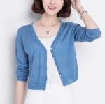 Spring and summer breathable cardigan 1706141