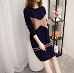 Knitted dress in spring and summer 1706142