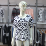 Ladies Print Tops Sweater RS-004
