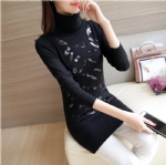 choker Sequins Lengthened sweater 1706164