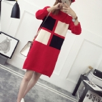 Square woman Sweater dress 1706198