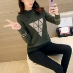 Triangle pattern pullovers 1706218