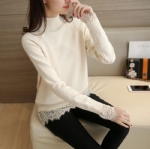Autumn Lace Pullover sweate1706221
