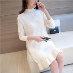 Long sleeved dress in autumn 1706222