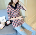 Women's stripes sweater 1706237