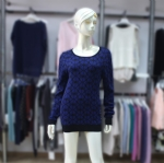 Ladies' Scoop Neck Pattern Pullover 1703106