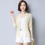 Autumn pure cardigan sweater 1706246