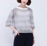 Loose and breathable sweater 1706249