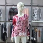Womens Spring Printed Pullover BMA-RS0015