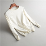 Loose cotton sweater 1706265