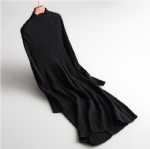 long Knitted wool dress 1706257