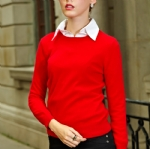 Crew Neck Cashmere Sweater Y001