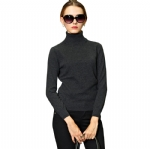 Basic Turtleneck Cashmere Sweater Y003