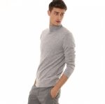 Mock Neck Cashmere Sweater For Men Y006