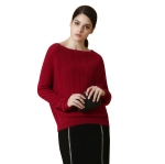 Boat Neck Cashmere Sweater Y020
