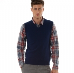 Business Cashmere Vest For Men Y007